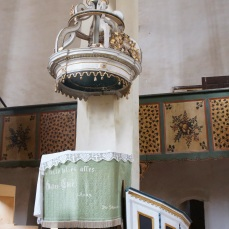 Biserica fortificata si muzeul cetatii din Mosna