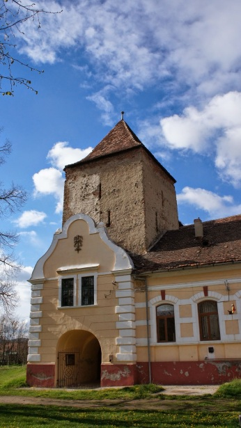 biserica fortificata din Brateiu